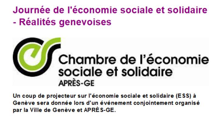Journée de l'économie sociale et solidaire le 12 Mars 2015