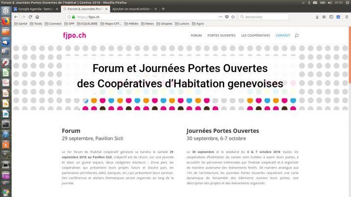 JOURNÉES PORTES OUVERTES DES COOPÉRATIVES