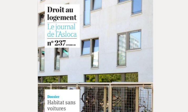 Habitat sans voitures : Le point de vue de l'ASLOCA